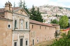 Padula, Salerno, chartreuse Stock Foto's