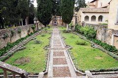 Padula trädgård arkivfoton