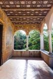 Padula Włochy, Wrzesień, - 2018: Certosa Di San Lorenzo Padula zdjęcia stock