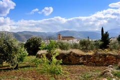 Padules Village Stock Photo