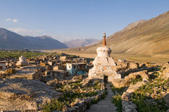 Padum town, Ladakh Royalty Free Stock Photo
