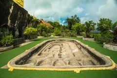 Pae dan Wat Tham, Sakon Nakhon, Таиланд стоковые изображения rf