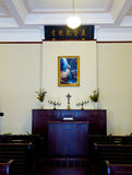 Paean hall inside Meiling palace stock images