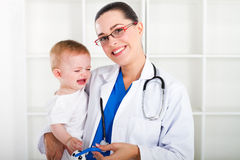 paediatrician Obrazy Royalty Free