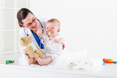 Paediatrician Royalty Free Stock Photo