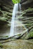 Paehler Schlucht瀑布 库存照片