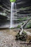 Paehler Schlucht vattenfall Arkivfoton