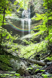 Paehler Schlucht waterfall Stock Photography