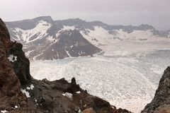 Paekdusan  Βουνό Changbai Στοκ φωτογραφία με δικαίωμα ελεύθερης χρήσης