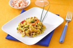 paella ισπανικά πιάτων χαρακτηριστικά Στοκ Φωτογραφία