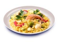 paella ισπανικά τροφίμων Στοκ Φωτογραφίες