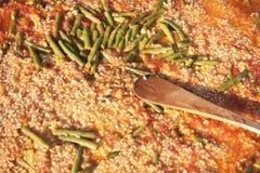 paella ισπανικά Στοκ Φωτογραφία