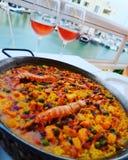 paella royalty-vrije stock afbeeldingen