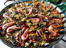 paella stockfotografie