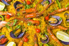 Paella Stock Photos