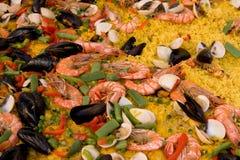Paella Lizenzfreies Stockfoto