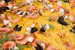 Paella Images libres de droits