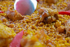 Paella Stock Photo