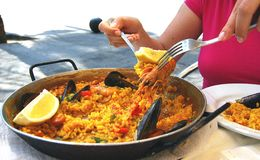 Paella Stockfotos