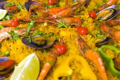 Paella #2 Stock Photography