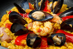 Paella Stock Photography