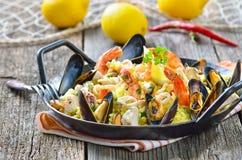 Paella stock foto's