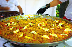 Paella Fotos de Stock Royalty Free