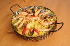 Paella Royalty Free Stock Photography