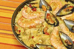 Paella. Stock Photography