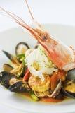 paella Asiatico-flessa Fotografia Stock