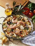 Paella catalana  Royalty Free Stock Photography