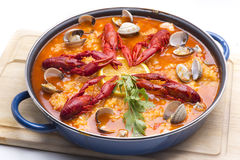 Paella color Royalty Free Stock Photos