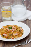 Paella délicieuse Photographie stock libre de droits