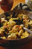 Paella de fruits de mer   Images stock