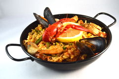 Paella de mA Photo stock