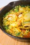 Paella de riz espagnol Photographie stock