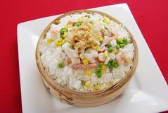 Paella de type chinois Photo libre de droits