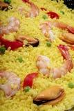 Paella detail Stock Photo