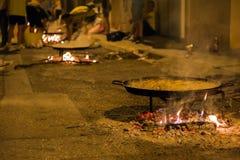 Paella festival Stock Image