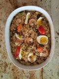Paella. Food, Rice Paella, Beef Paella, Shrimp Paella Stock Image