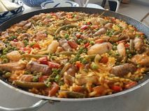 Paella Gasm! royalty free stock photos