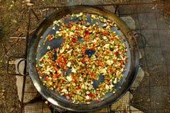 Paella grande Imagen de archivo
