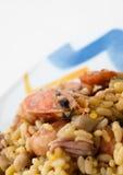 paella owoce morza Zdjęcia Royalty Free