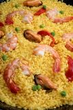 paella owoce morza Obraz Royalty Free