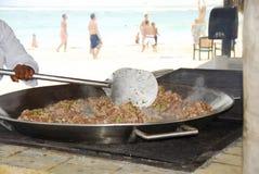 paella owoce morza Fotografia Stock