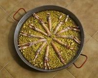 paella owoce morza spanish zdjęcia stock
