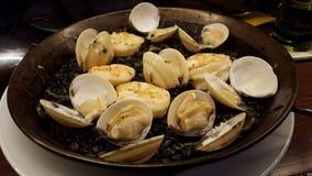 Paella preto do calamar Imagens de Stock Royalty Free