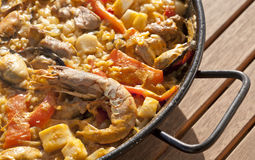 Paella rice Royalty Free Stock Photography