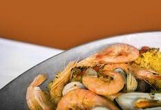 Paella rice Royalty Free Stock Photo