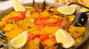 Paella rice Stock Photography